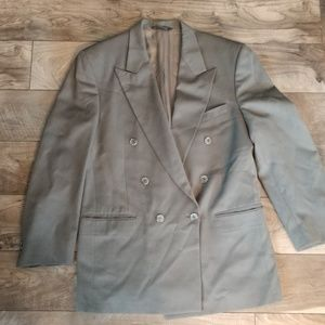 Burberry double-breasted jacket, 42 R